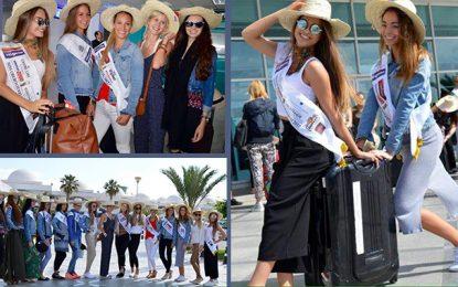Miss Autriche : Les finalistes arrivent à Djerba