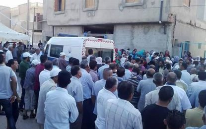 Sidi Bouzid : Obsèques de l'agent Majdi Hajlaoui