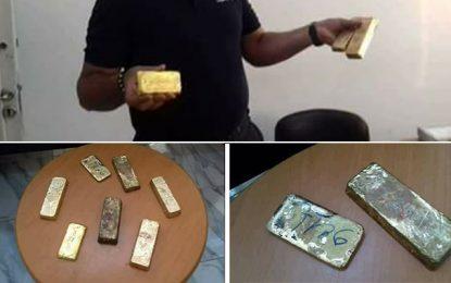 Gabès : Saisie de lingots d'or d'une valeur estimée à 1 MDT
