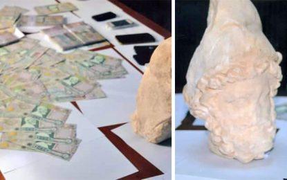 Trafic de pièces archéologiques : Quatre personnes arrêtées à Gabès