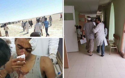Kébili : Plusieurs blessés dans des heurts entre habitants