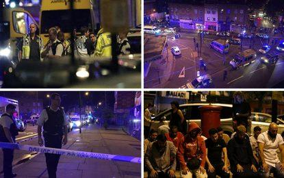 Attaque islamophobe à Londres : Un mort et 8 blessés