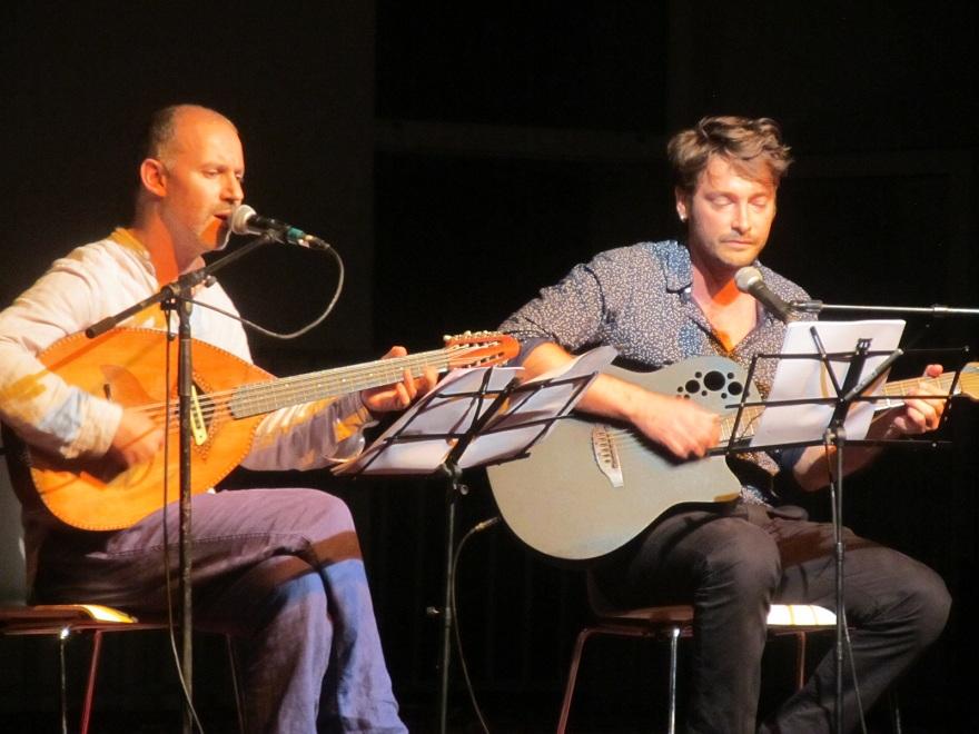 Malik Ziad et François Beaune.