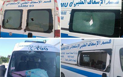 Malouche : Une ambulance caillassée suite au décès d'une femme