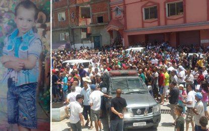 Metline : Manifestation appelant à arrêter le tueur deSeif