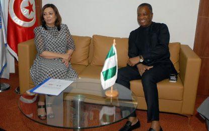 Le ministre nigérian des Affaires étrangères à l'Utica