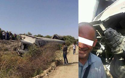 Le déraillement du train Tunis-Ghardimaou fait rire un agent SNCFT