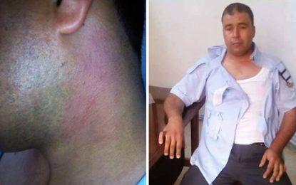 Sidi Bouzid : Un policier agressé par un extrémiste religieux