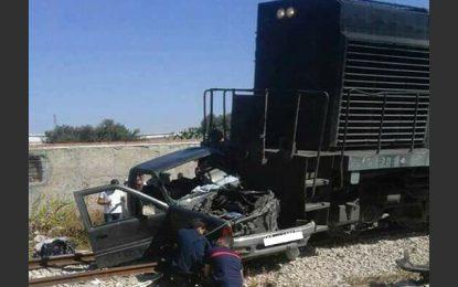 Sousse : Une famille périt dans un accident de train