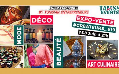 #Créateurs_619 : Expo-vente pour inciter à consommer tunisien