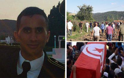 Terrorisme : Le Lieutenant Toujani accompagné à sa dernière demeure