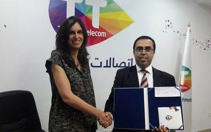 Tunisie Telecom aux petits soins des enfants de SOS Villages