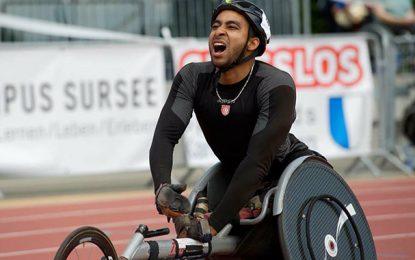 Para-athlétisme : Walid Katila bat un record du monde en Suisse