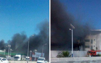 Port de Radès : Curieux incendie après la visite de Chahed