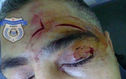 Sousse : Des délinquants agressent un agent de police