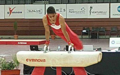 Gymnastique : L'or pour Wissem Harzi au tournoi de Guimaraes