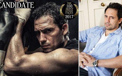 Dhafer El-Abidine en lice pour les 100 plus beaux visages au monde