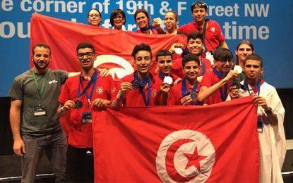 Robotique : Des élèves tunisiens médaillés à Washington