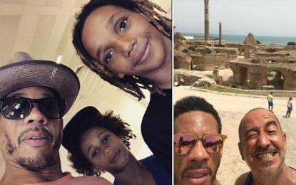 Le rappeur français Joey Starr passe ses vacances en Tunisie