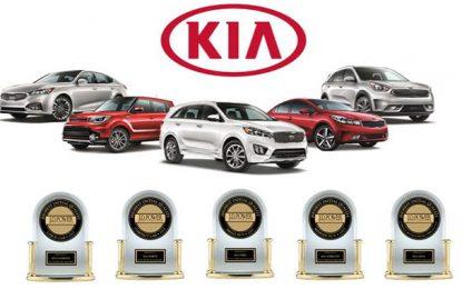 Kia en tête du classement sur la qualité initiale de J.D. Power