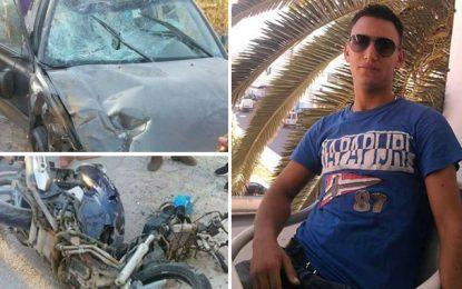 Mahdia : Décès d'un agent de police, percuté par une voiture