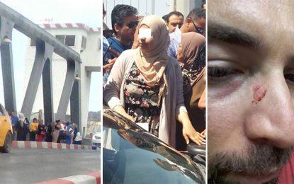 Bizerte : Elles bloquent le pont et agressent un automobiliste