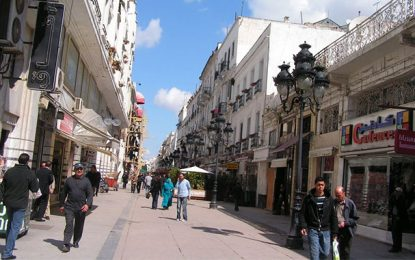 Tunis : La rue de Marseille, un «no-man's land»!