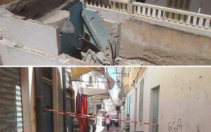 Sousse : Un agent municipal tombe d'un toit