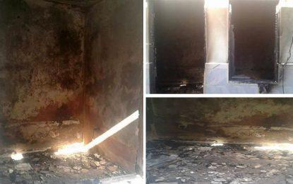 Tozeur : Deux maisons de policiers incendiées