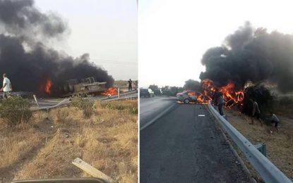 Un mort et 2 blessés graves dans un accident à Bouficha