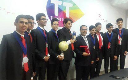 Tunisie Telecom félicite les 7 médaillés au First Global Robotics Challenge