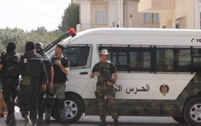 Béja : Huit agents de la garde nationale blessés dans un accident