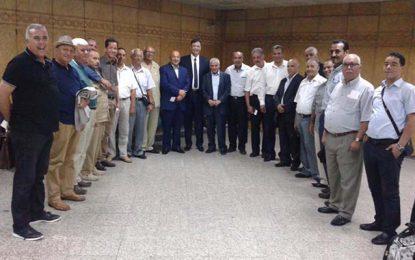 Syrie : La délégation de l'UGTT à la rencontre de Assad