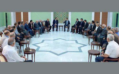 Assad à la délégation de l'UGTT : Ne vous excusez pas pour les terroristes tunisiens!