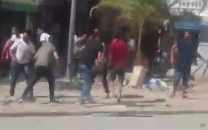 Tunis : Accrochage entre policiers et vendeurs ambulants