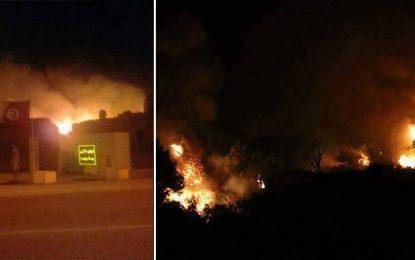 Incendie à Bulla Regia : Le feu n'a pas atteint le site archéologique