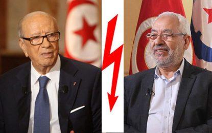 Rached Ghannouchi à Béji Caïd Essebsi : Je t'aime, moi non plus !