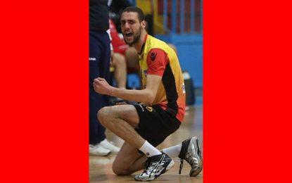 Volleyball : Chokri Jouini, un an avec Al Ahly du Caire