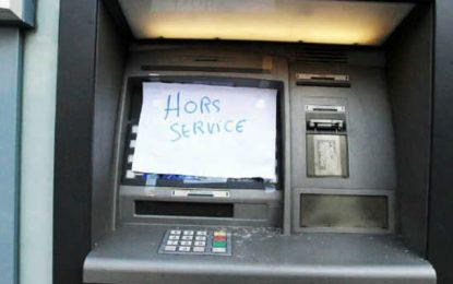 Banques-Dab : 57 minutes de panne par jour