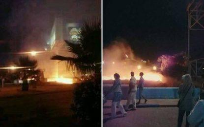 Berges du Lac : Non, le parc Dahdah n'a pas pris feu