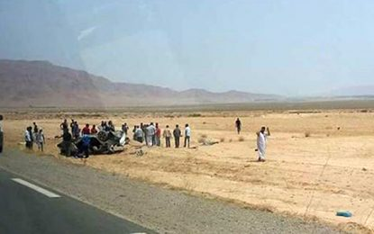 Deux morts et 3 blessés dans un accident à Gafsa
