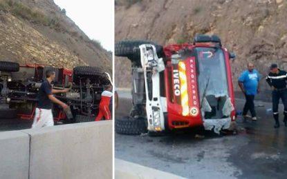 Décès d'un pompier à Jendouba