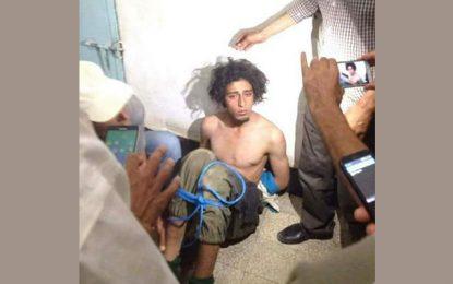 Identité du terroriste capturé par des citoyens à Kasserine