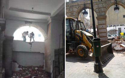 Tunis : Récupération d'un terrain exploité par Magasin Général
