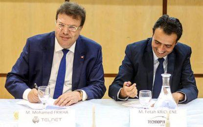 Technopole de Sfax : Partenariat avec Telnet-inc et Airbus Safran Launchers