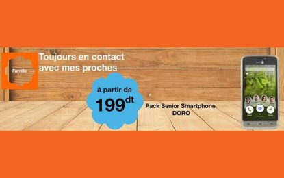 Smartphone : Le Doro 8031 partir de 199DT chez Orange Tunisie