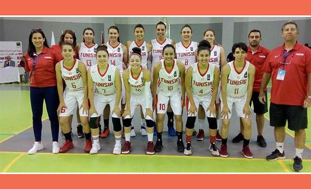 Féminin Championnat Arabe En BasketLes Tunisiennes Finale De j3ARL45