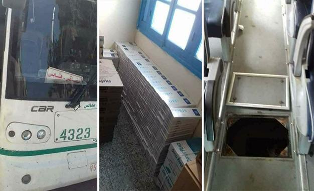 La justice s'est saisie de l'affaire du bus régional de Sfax, intercepté samedi 5 août 2017, à Gabès, avec de la marchandise de contrebande.