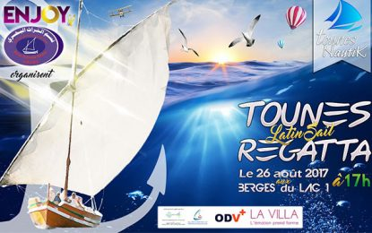 Tounes Latin Sail Regatta le 26 août aux Berges du Lac de Tunis