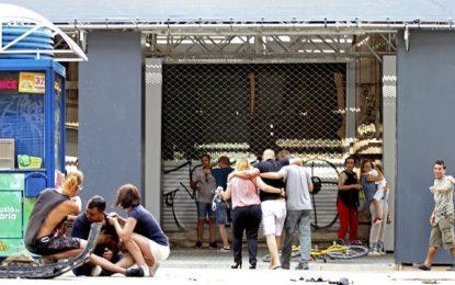 Barcelone : Une attaque terroriste à la fourgonnette bélier